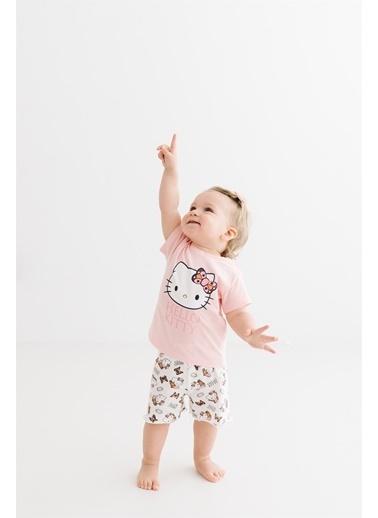 Hello Kitty Lisanslı Bebek Takım 17480 Somon